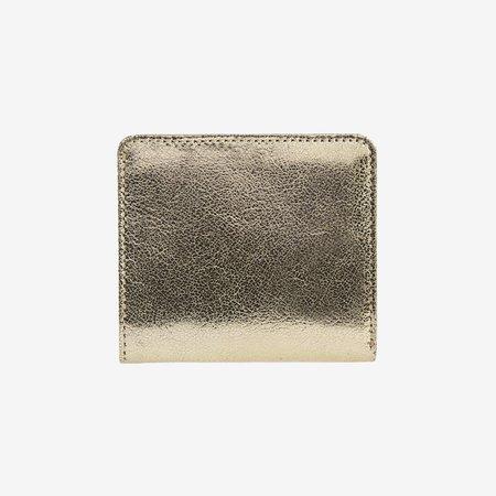 Tusk Alix Metallic Evening Wallet - GOLD