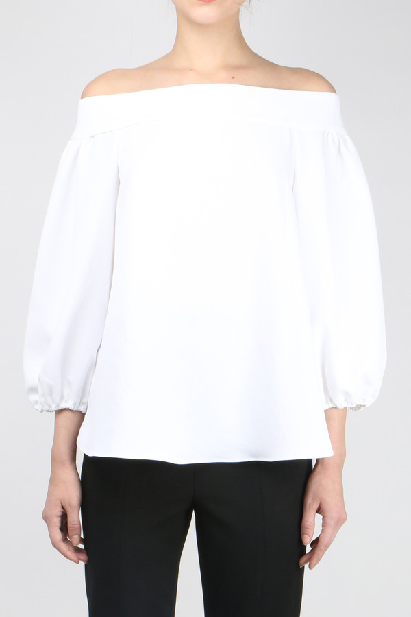 Tibi Off Shoulder Top