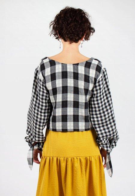 L.F.Markey Olaf Shirt - Black Check