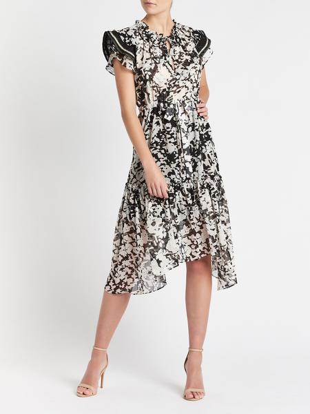 Misa Los Angeles Della Dress - black