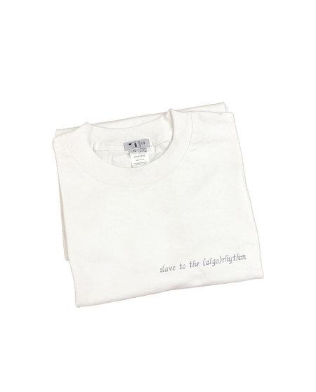 Unisex House of 950 slave to the (algo)rhythm tee shirt