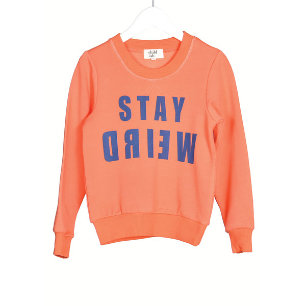 Child.Ish Stay Weird Sweat Shirt Dress