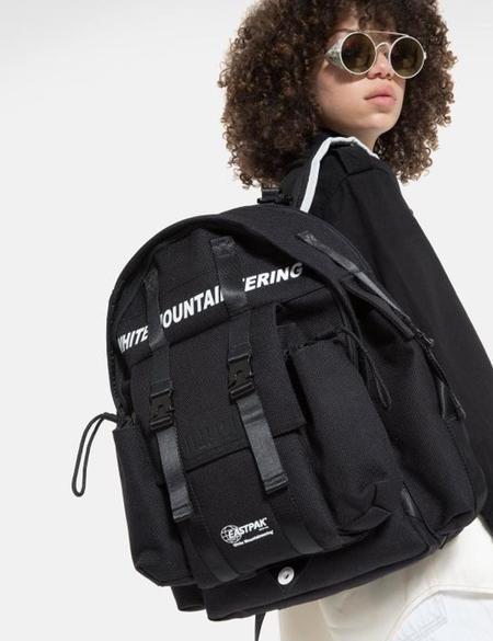 Eastpak x White Mountaineering Pak'r Backpack - Dark Black