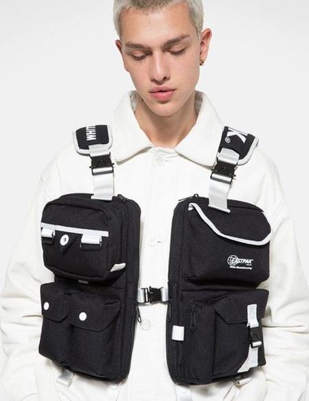 Eastpak x White Mountaineering Vest Bag - Dark Black