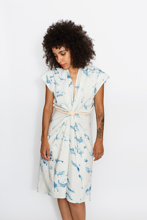 Miranda Bennett Arashi Tempest Dress | Silk Noil