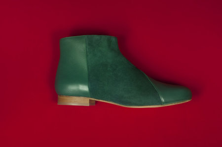 INLU Low-heel boots - Forest Green