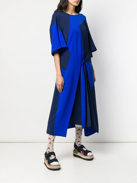 Henrik Vibskov Field Dress - Blue Cuts