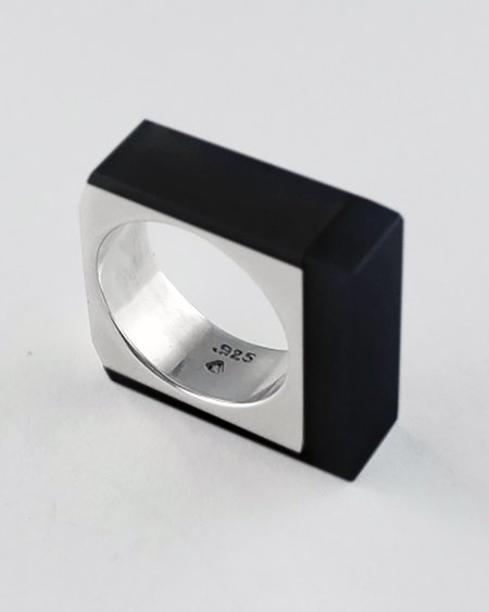 Lacar Large Factory Ring - Silver