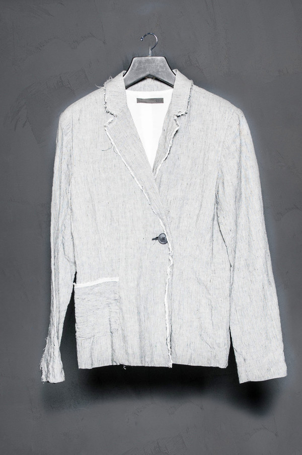 KES Raw Blazer Striped