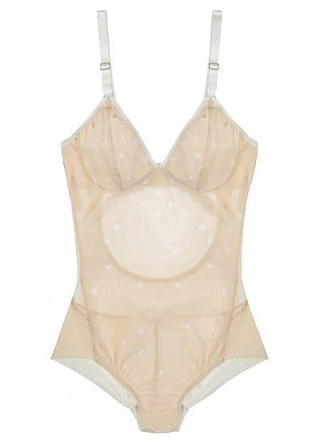 Fortnight Ara bodysuit - champagne/ivory