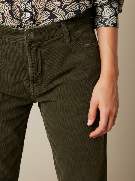 Hartford Pencil Pant - Army