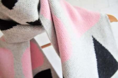 Giannina Capitani Ellsworth wide scarf - Pink
