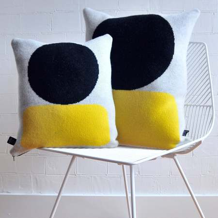 Giannina Capitani Ellsworth cushion - yellow