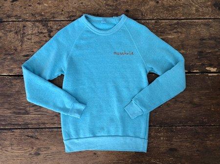 The Masshole Project Sweatshirt - Aqua