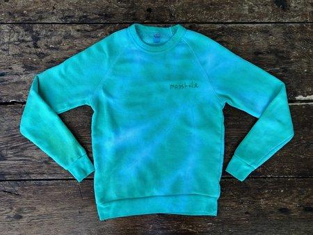 The Masshole Project Tie-Dye Sweatshirt - Green