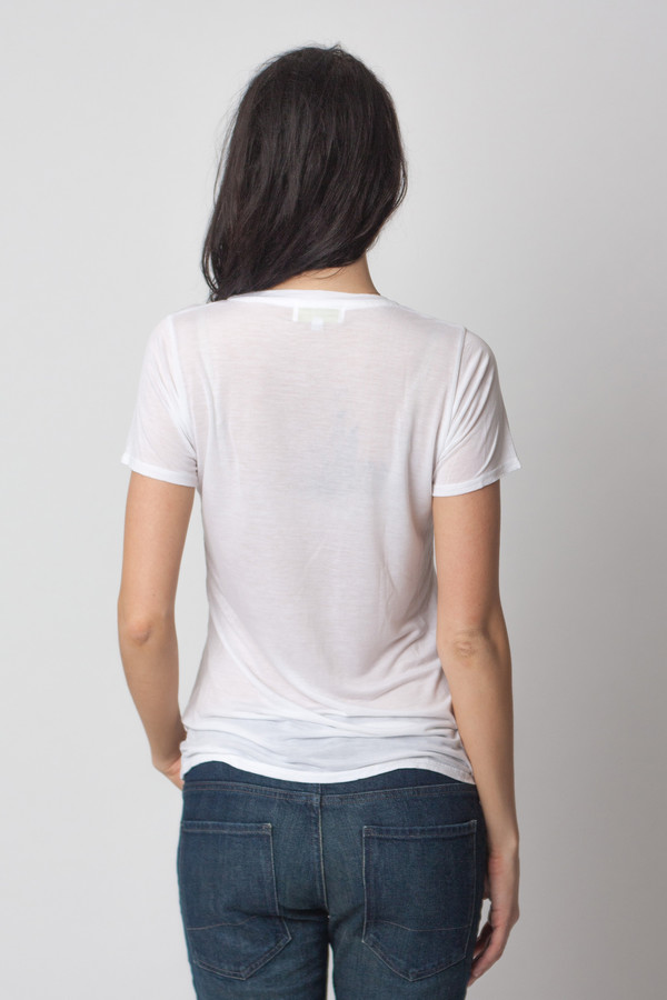 The Lady & the Sailor Basic Tee White