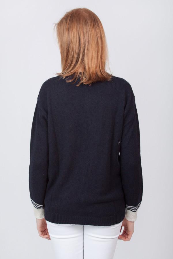 Chinti and Parker Cashmere Cuff Stripe Sweater