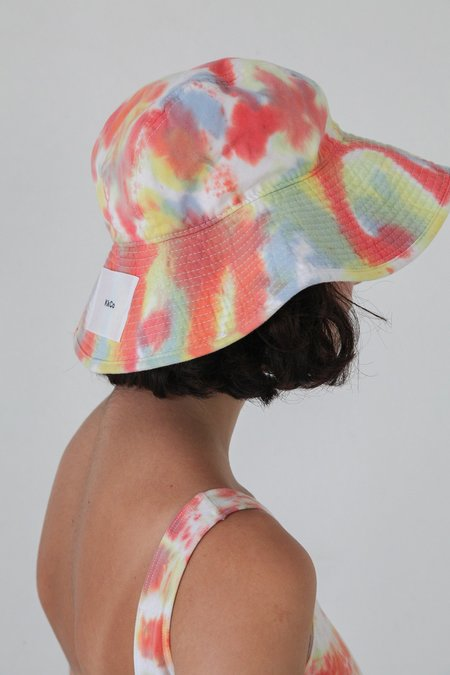 KkCo Vacationer Hat - Lichen Tie Dye