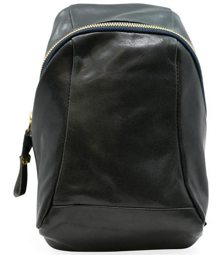 Cornelian Taurus Leather Turtle Shoulder Bag - Dark Navy