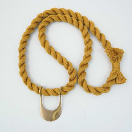 Rebekah J Designs Canal Necklace - BR/Marigold