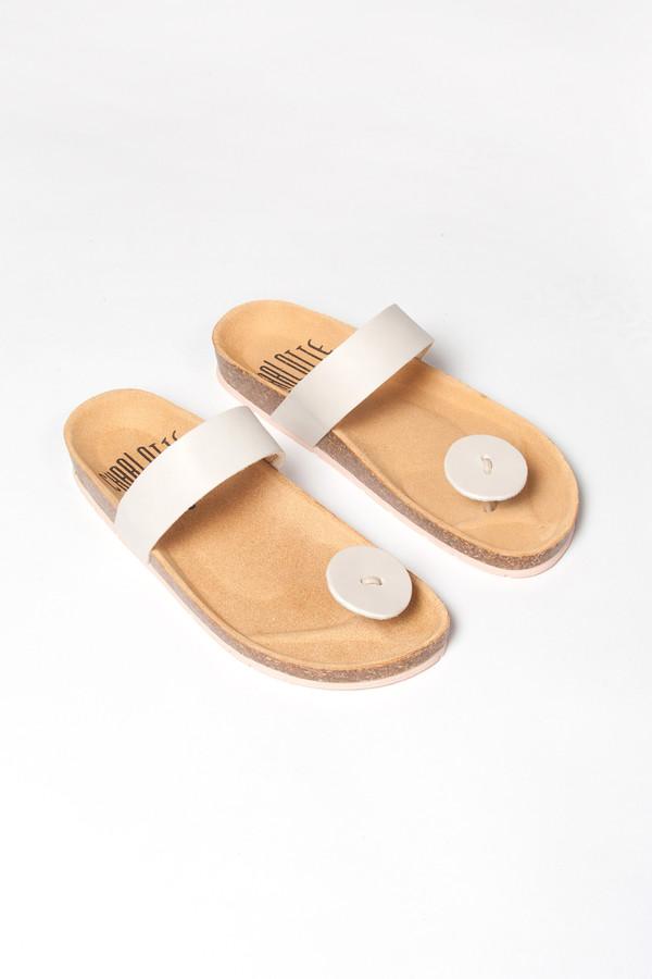 Charlotte Stone Gogo Sandal Panna