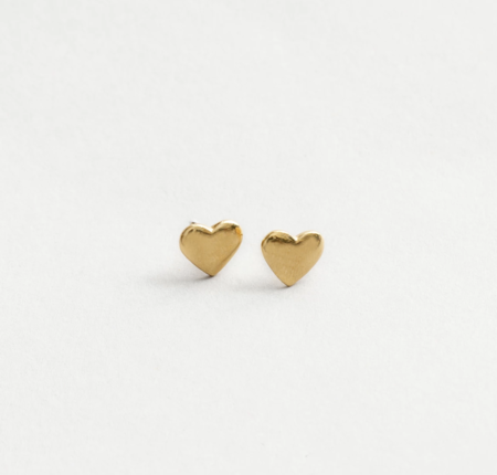 Wolf Circus Amourette Heart Studs