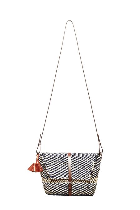 AAKS Sinsi Natural Bag - Natural/Navy