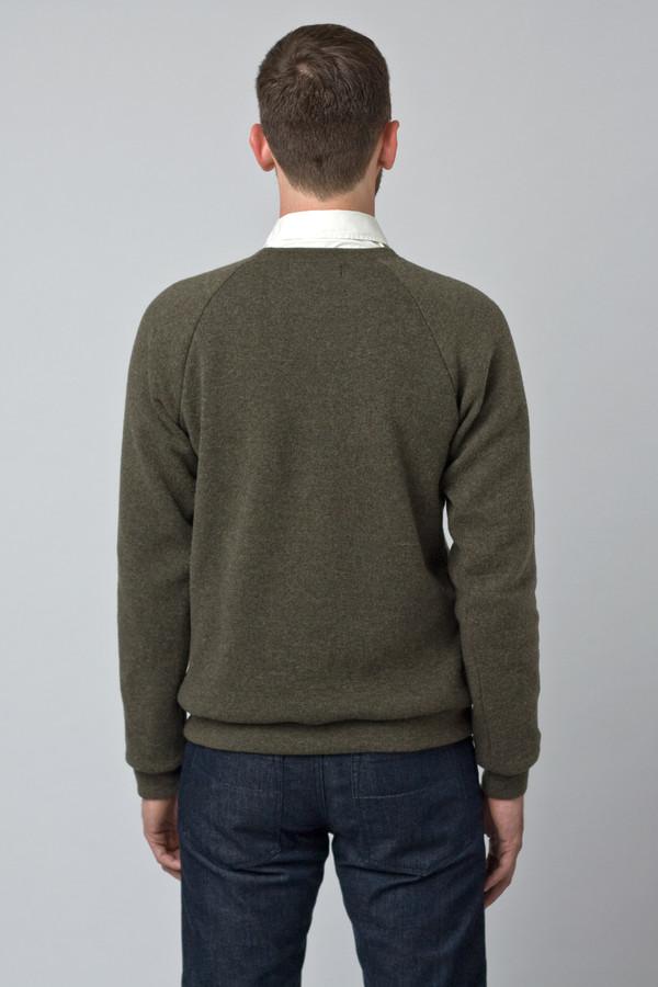 Men's Raleigh Denim Wool Sweatshirt Moss