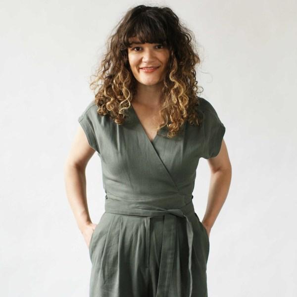 Curator Maren Pantsuit Black