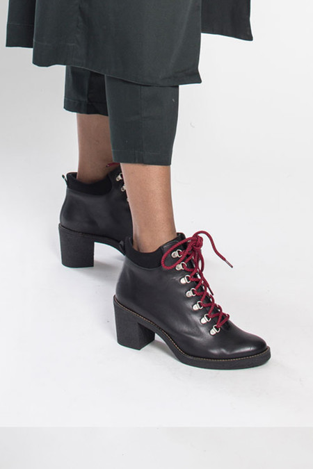 Aubrey Black Boot by Miista