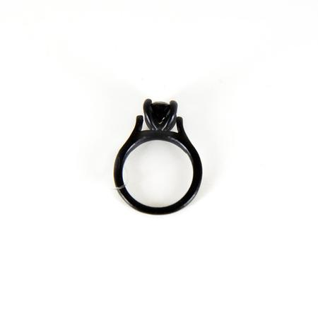 Funhouse Labs Ring - Matte Black on Black