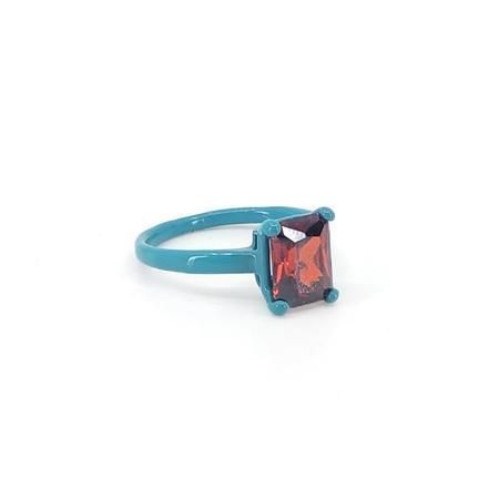 Funhouse Labs Ring - Turkish Blue/Red