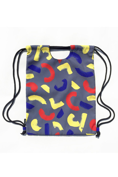 Mansi Shah Crescent 2 Way Bag in Multi