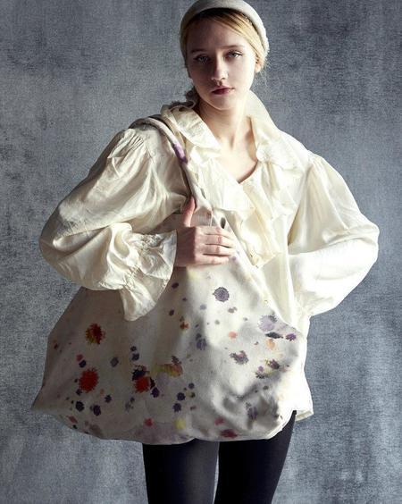 Martyn Thompson Woodstock Weekend Bag - Paint Splattered
