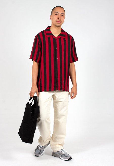 Lazy Oaf Vertical Stripe Bowling Shirt