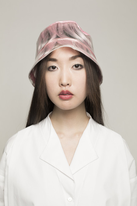 Maryme-Jimmypaul Hair Bucket Hat Pink Hair in Pink