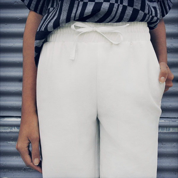 Nikki Chasin Draper Ottoman Drawstring Pant