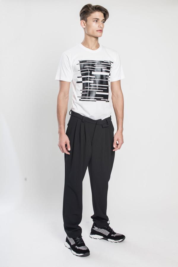 Men's Kenneth Ning Rubber Print T-Shirt in White