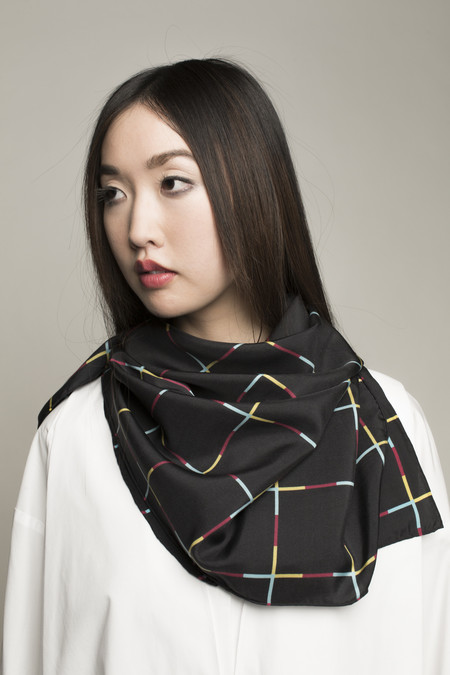 Mansi Shah Spectrum Scarf in Multi