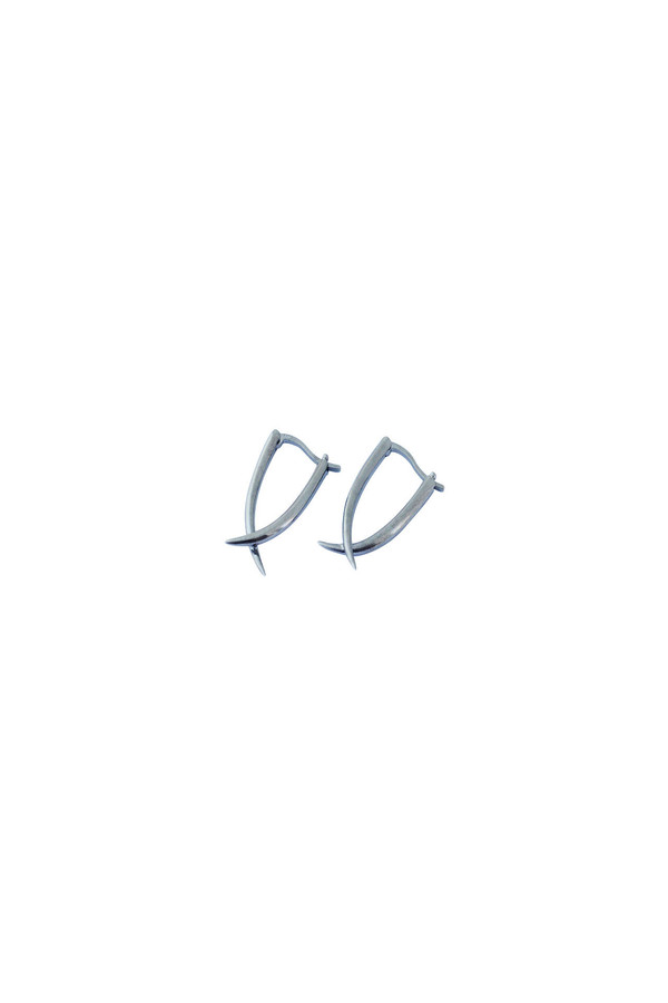 REBEKKA REBEKKA Tina Earring in Black Rhodium