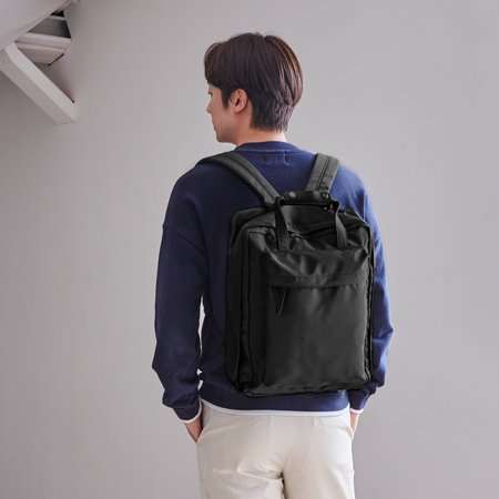 Unisex Poketo Voyager V3 Backpack - Black