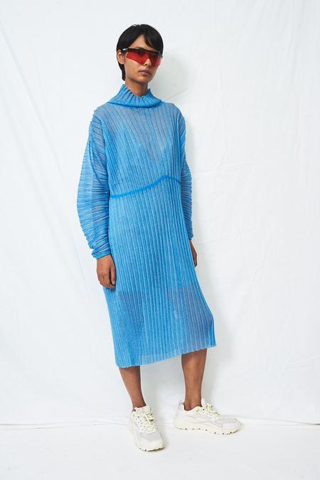 PH5 Alice Organza Pleat Maxi Dress - Blue