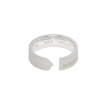 HNDSM Paris Ring - Matte Sterling Silver