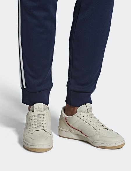 adidas Originals Continental 80 sneaker - Clear Brown/Scarlet/Ecru Tint