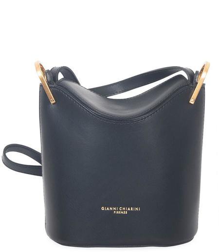 Gianni Chiarini Leather Handbag - Black