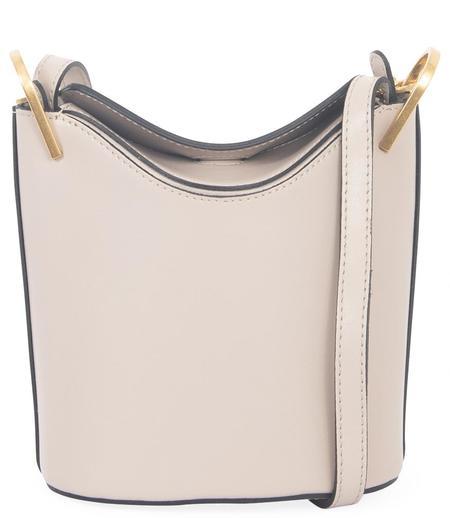 Gianni Chiarini Leather Handbag -  Light Beige Magnolia