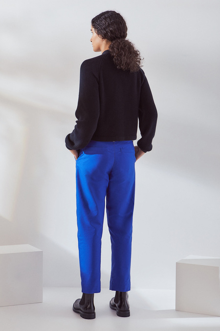 Kowtow Edition Pant in Cobalt