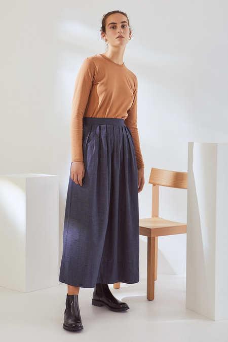 Kowtow Line Skirt in Grid