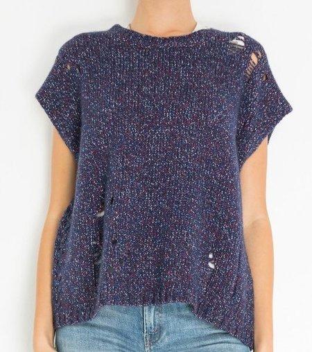 Raquel Allegra cashmere blend sweater - blue