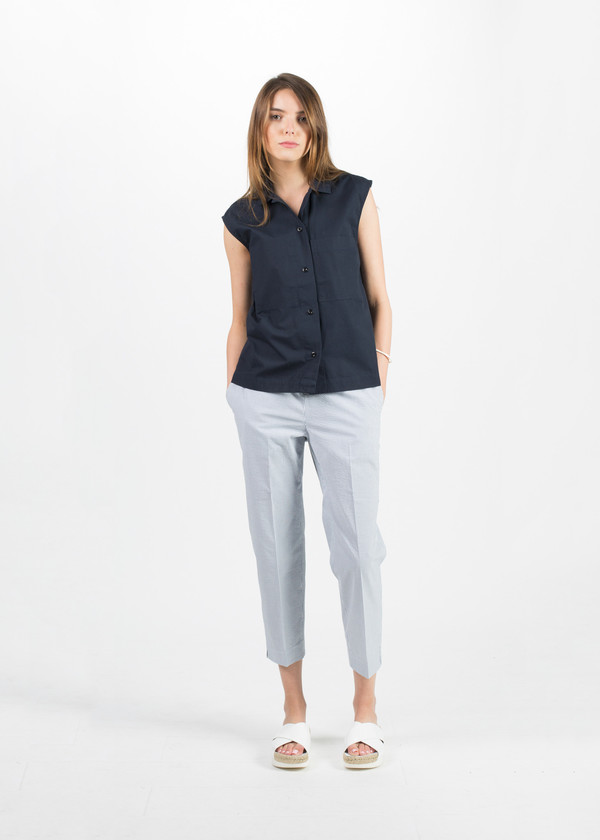 MHL by Margaret Howell Sleeveless Work Shirt